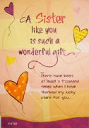 A Sister Like You Card